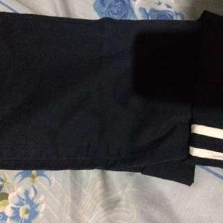 Navy Chino Zara Man Original