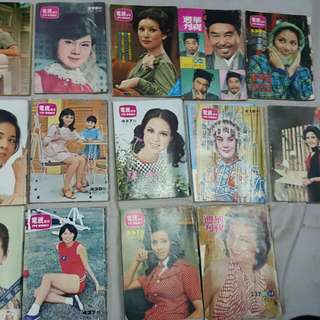 早期電視週刊……每本200