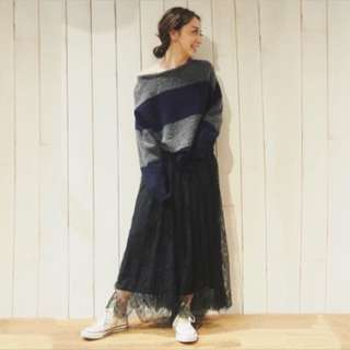 Ungrid 條紋毛衣