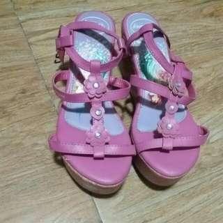 Disney Princess Wedge Sandals For Girls