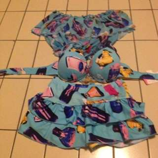 3pcs Of Swimsuit