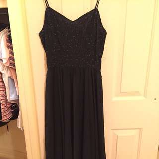 Vintage Formal Black Dress