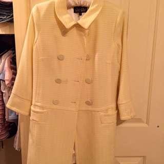 Yellow Coat (size 12)