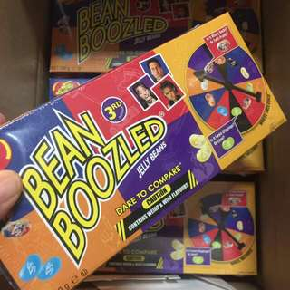 Jelly Bean Boozled With Spinner 3rd Edition