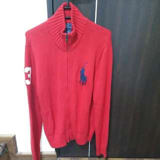 BN Polo Ralph Lauren Zip Up Sweater