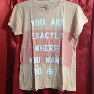Graphic Ombre Tshirt
