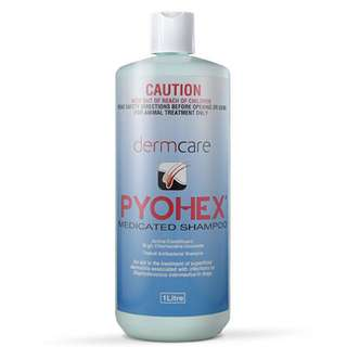 Dermcare Pyohex Medicated Shampoo 1L