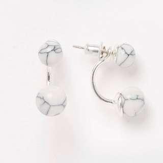 Marble Bead Earrings