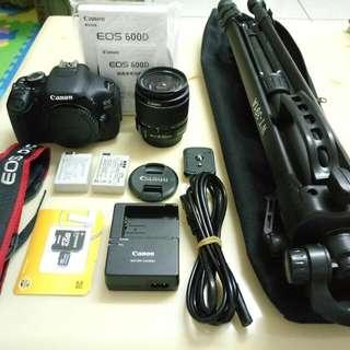 Canon 600D+Tripod