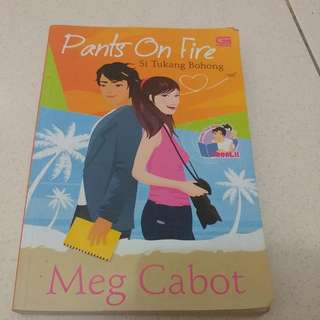 Novel: Pants On Fire