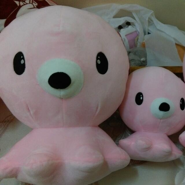 韓國偶像劇的章魚玩偶