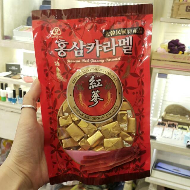 韓國帶回  韓國紅蔘軟糖