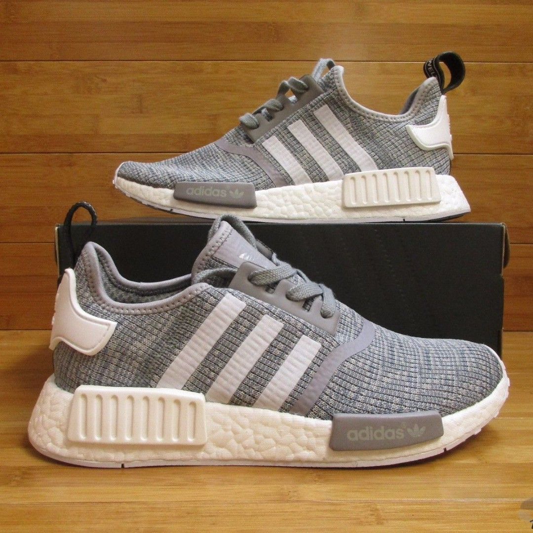 Adidas NMD R1 Glitch Grey!