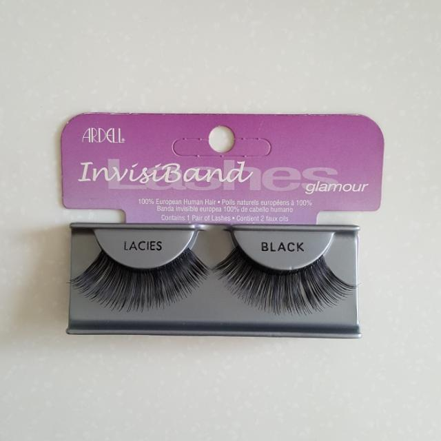 c2692f6e583 Ardell InvisiBand (Glamour) Lacies - Black, Health & Beauty, Makeup ...