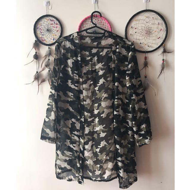 Army/Camo Kimono 💚