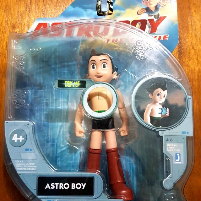Astro Boy The Movie Collectible Toy, Toys & Games, Toys On