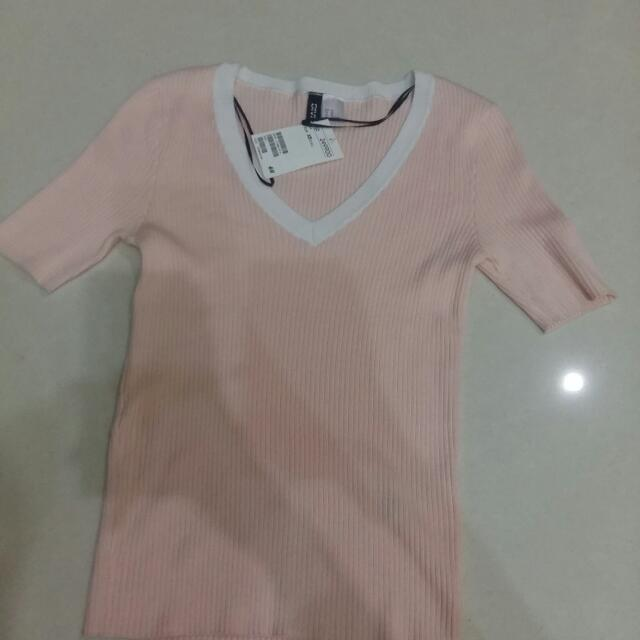 Atasan Hnm Pink