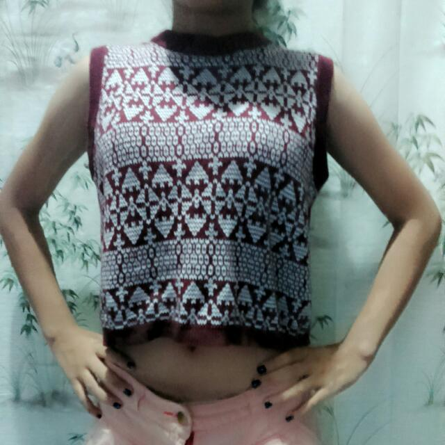 Baju Crop Top