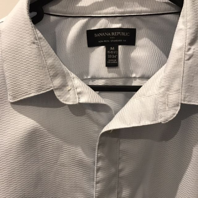 Banana Republic Dress Shirt Size M