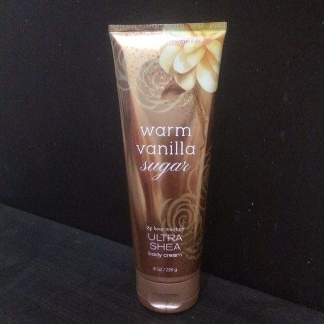Body Cream BBW - Warm Vanilla Sugar