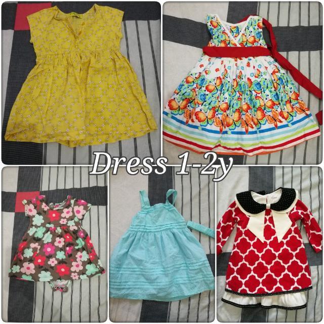 Bundle: Dress 1-2y