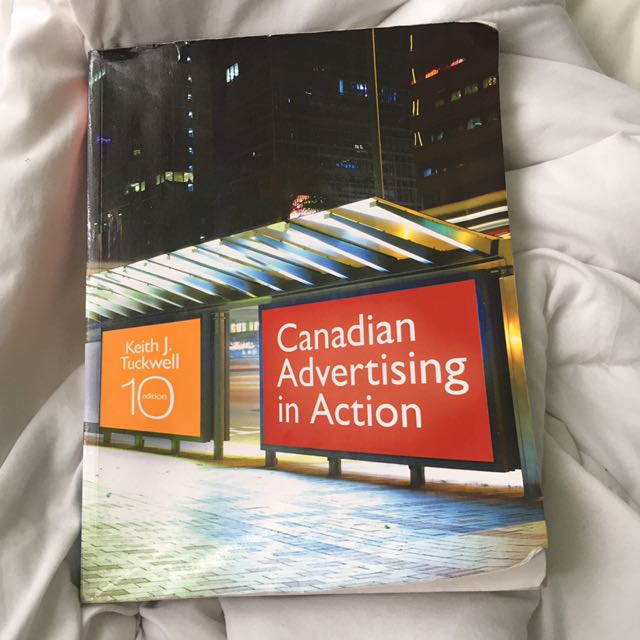 Canadian Advertising In Action 10th Edition Keith J. Tuckwell