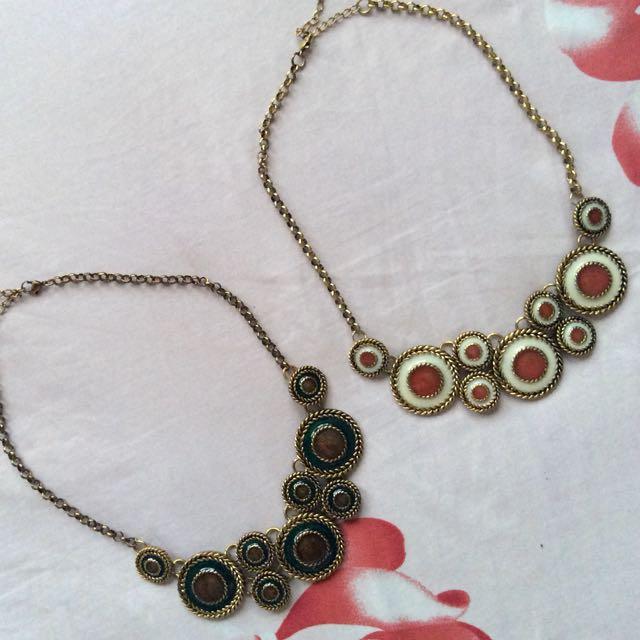 Bohemian Discus Necklaces