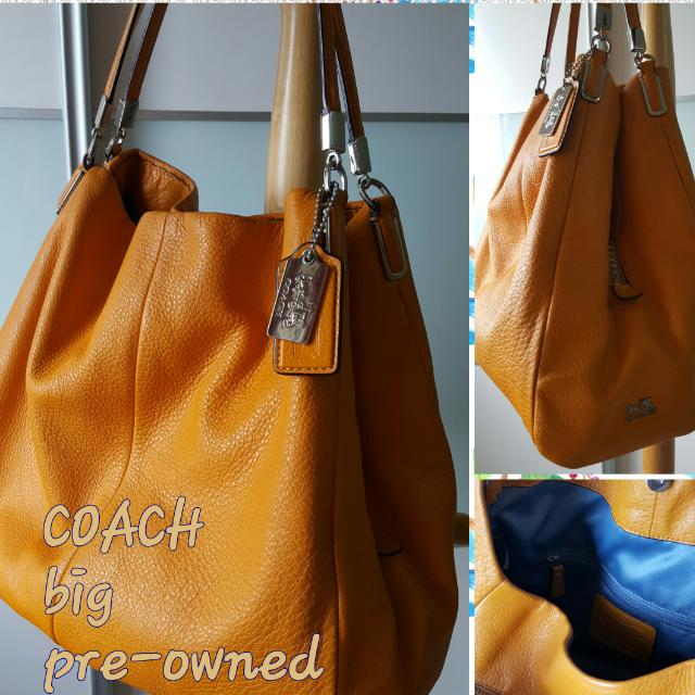 35afaf0224 ... cheap coach handband womens fashion bags wallets on carousell 8038b  47ad4 closeout coach kristin embellished signature sequins hobo handbag ...