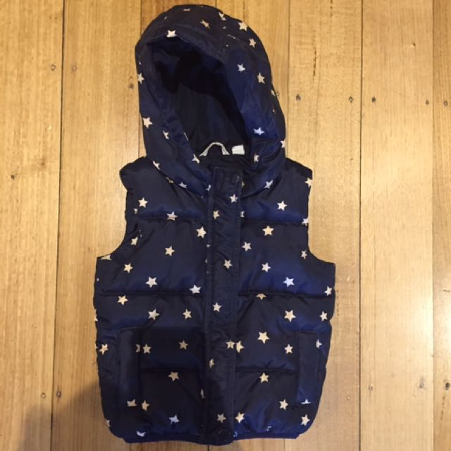 Country Road Girls Puffer Vest Size 3