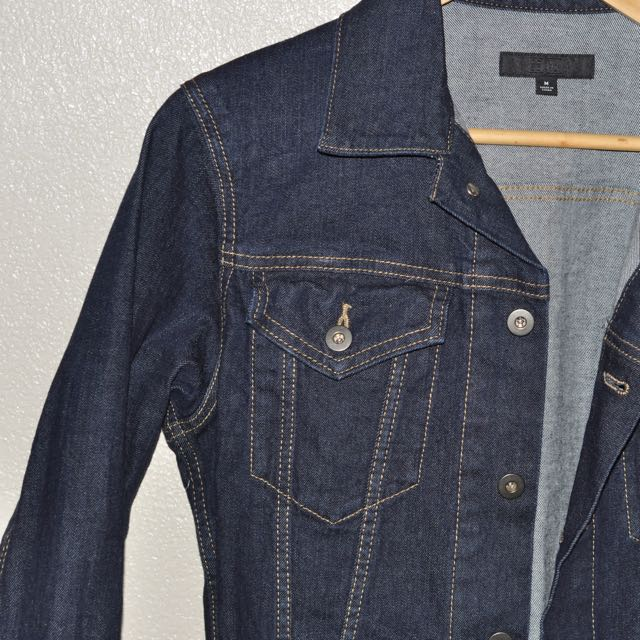 Dark Washed Denim Jacket Uniqlo