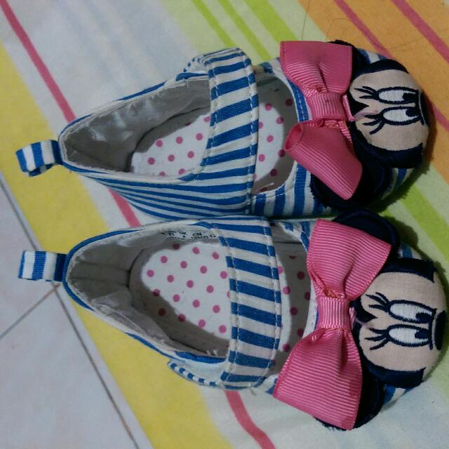 Disney Mickey Mouse Doll Shoes For Baby From US