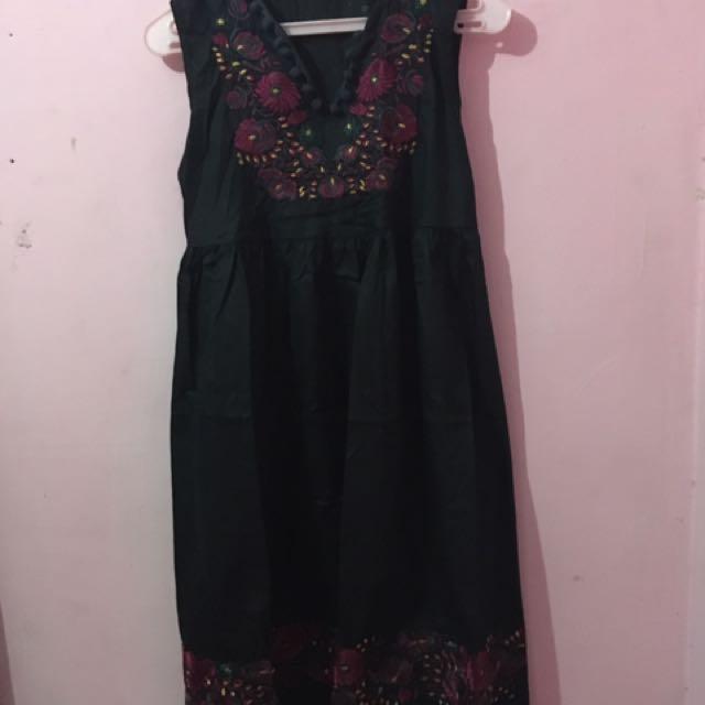 Dress Bordir Black
