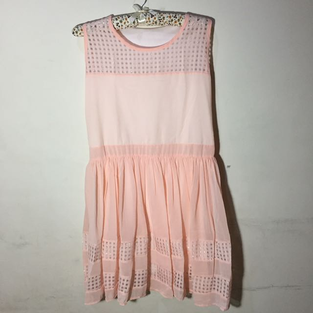 Dress Mini Korea Peach