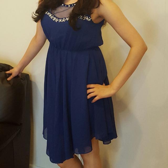 Dress With Beautiful Neckline