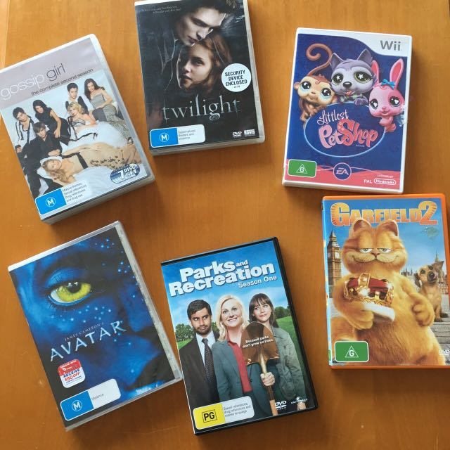 DVDs & Wii Game