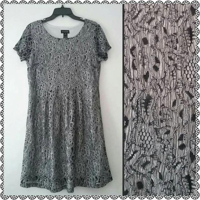 Enfocus Brocade Dress Size 14