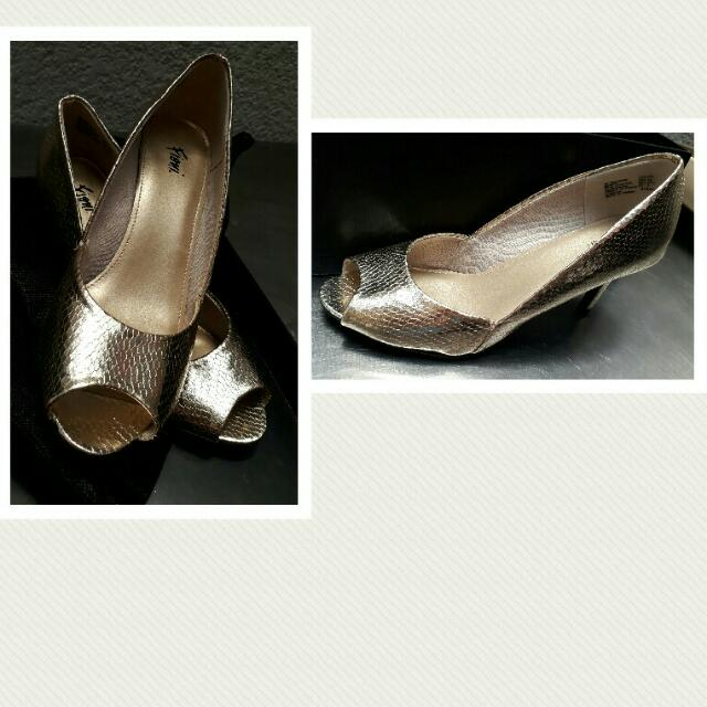 FINIO  GOLD Heeled Shoes