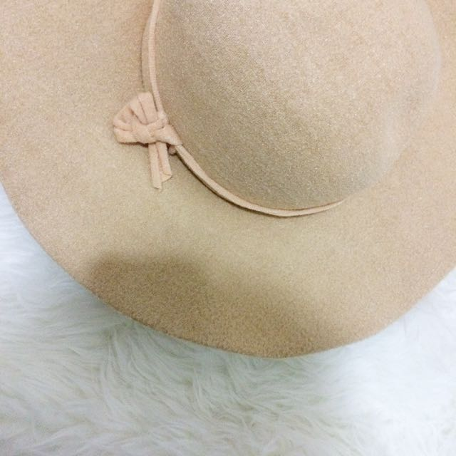 Floppy Hat  Cream