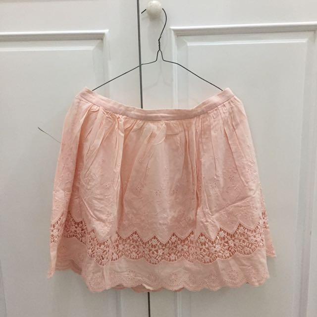 FOREVER21 Pink Skirt