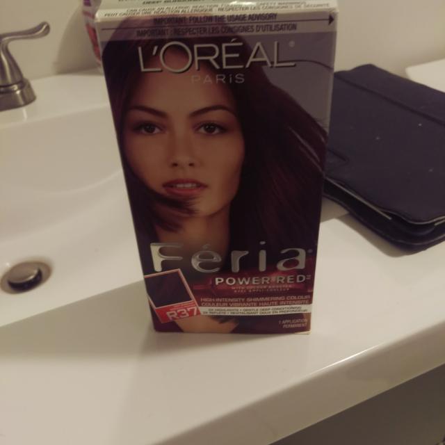 Féria Blowout Burgundy Hair Dye