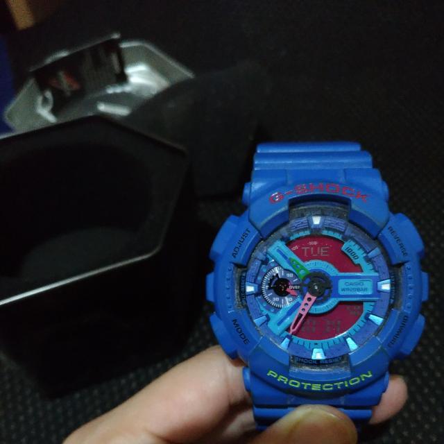 G Shock藍精靈(歡迎面交)