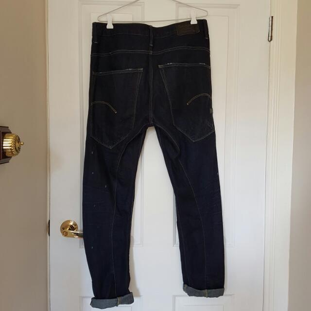G Star Arc Jeans Raw Denim Size 30 3d Loose Taperer