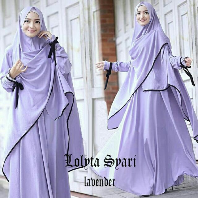 Gamis Lolita Syari