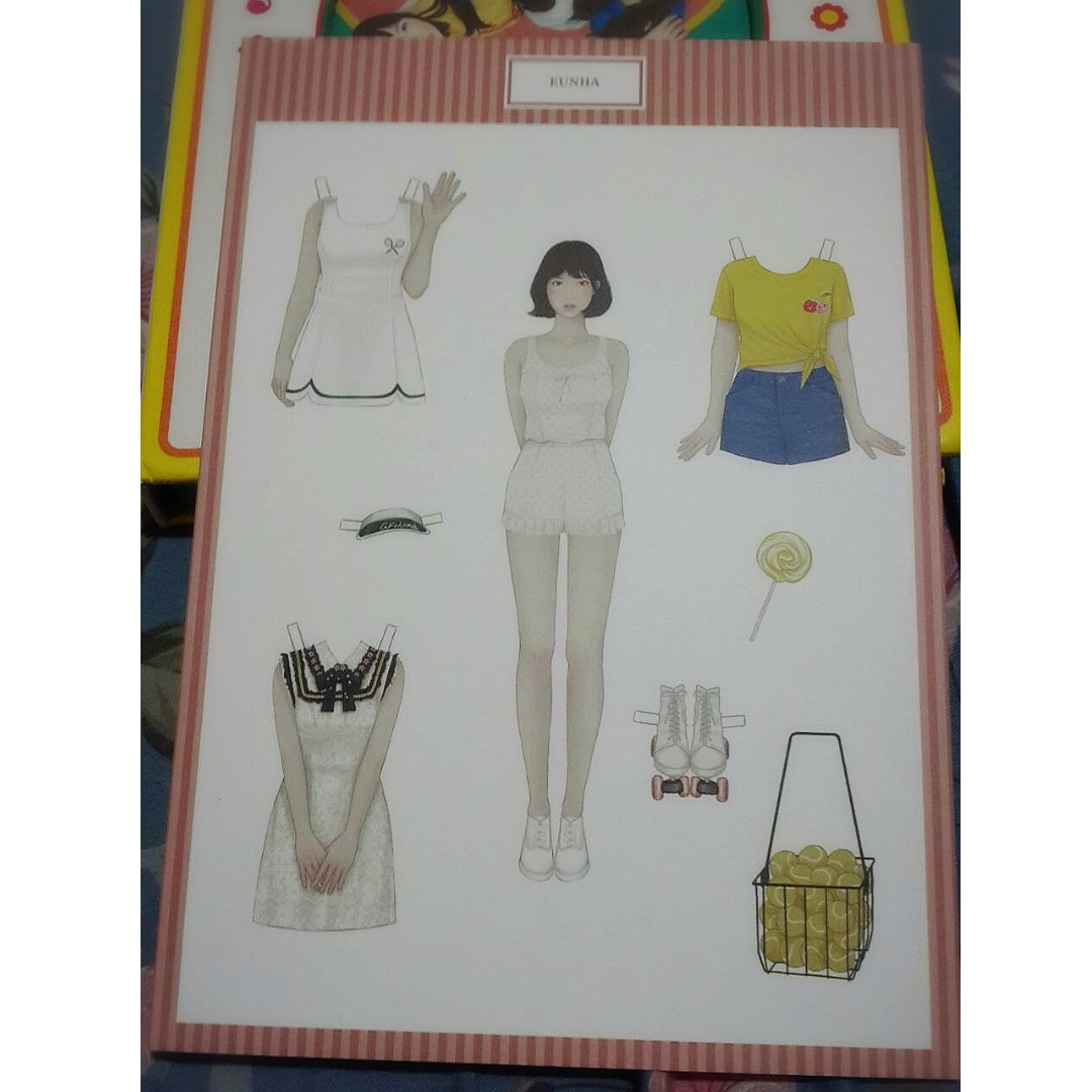 GFriend's Eunha Paper Doll from LOL Album