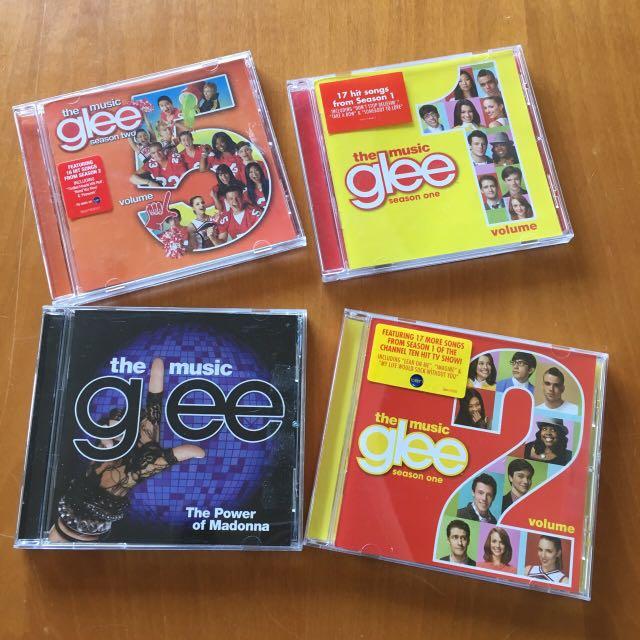 Glee cDs