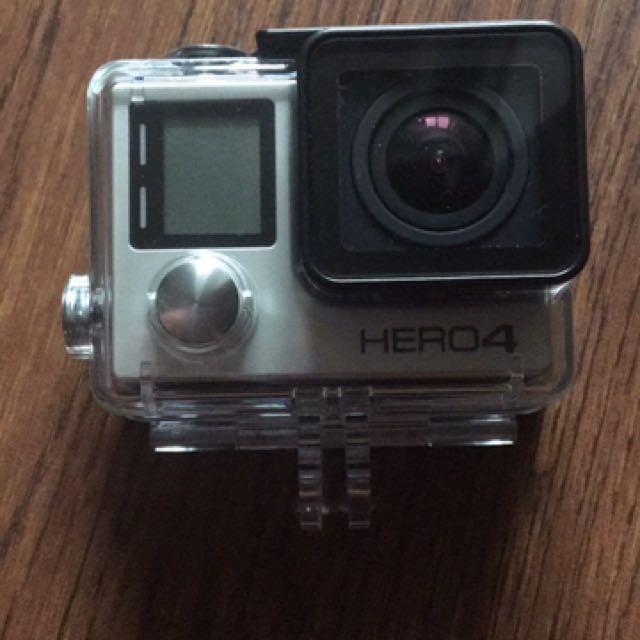 GoPro 4 銀色有螢幕沒盒子