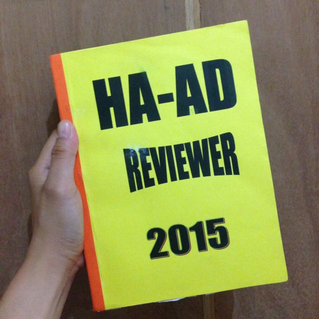 HAAD Reviewer