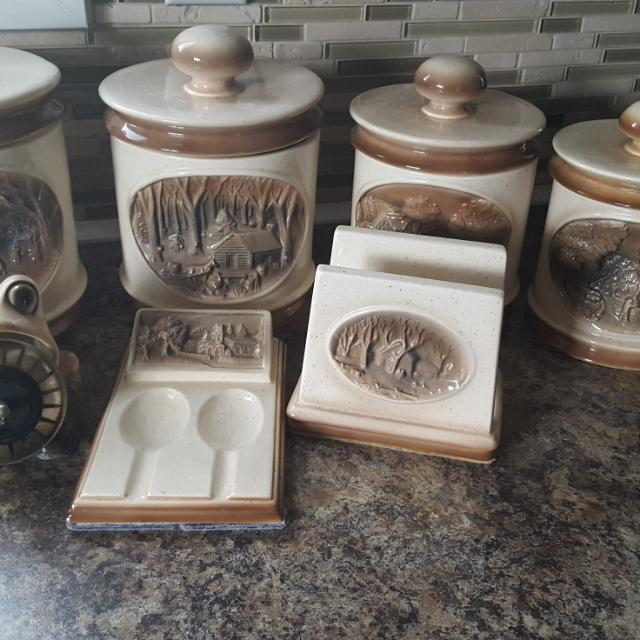 Hand Made Canister Set