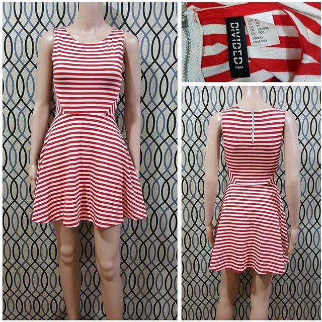 H&M stripe dress