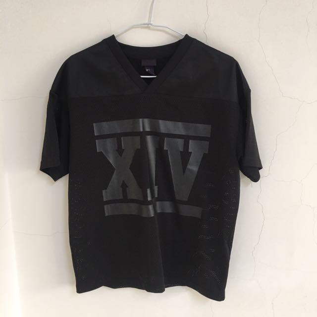 H&M老品網眼棒球T-shirt